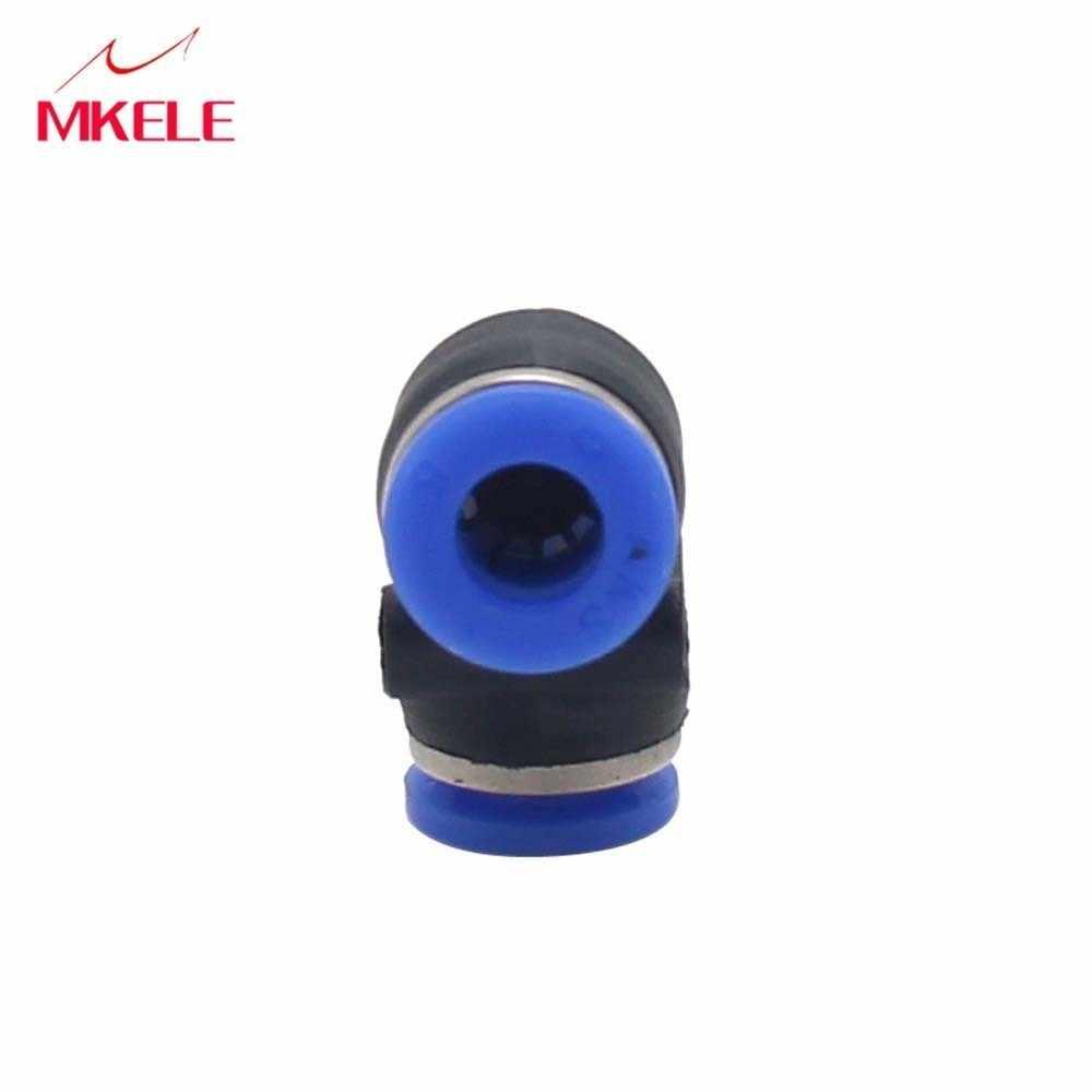 PV6 Rohr O/D Hohe Qualität 4mm-16mm schnellen einsatz kunststoff rechten winkel 90 grad ellenbogen butt zwei links stecker