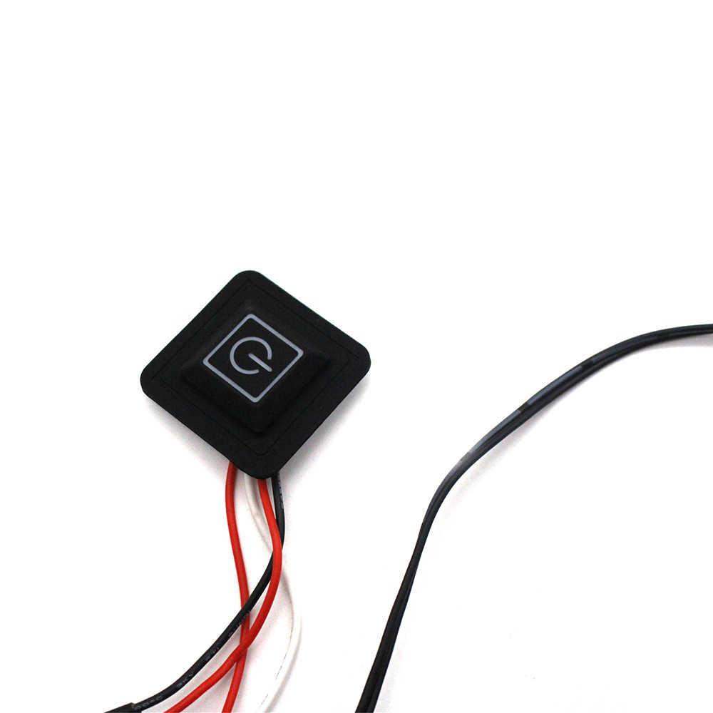 Warme Paste Pads USB Aufgeladen Wasserdichte Carbon Faser Heizung Pad Sicher Tragbare Heizung Wärmer Pad Für Weste Jacke Tuch Liefert