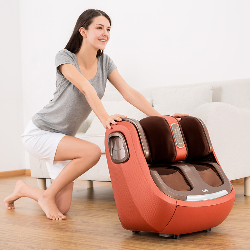 Image 5 - Electric Leg And Foot And knee Massager Infrared Heating Legs Calf Massage Machine Air Pressure Air Compression Massagem-in Massage & Relaxation from Beauty & Health