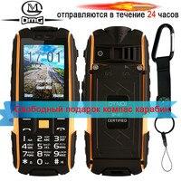 Original DTNO.I A9 Russian keyboard IP67 Waterproof shockproof phone 4800mAh battery Dual SIM mobile phone FM flashligh phones