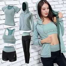 93341bfe33fa7 Kadın spor giyim yoga kıyafeti Seti Salonu Spor Giyim Için Açık Koşu Koşu  Giyim Eğitim Egzersiz Hızlı Kuru Tulum