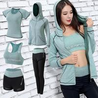Women Sports Clothing Yoga Wear Set Gym Fitness Clothing For Outdoor Running Jogging Clothes Training Workout Quick Dry Jumpsuit