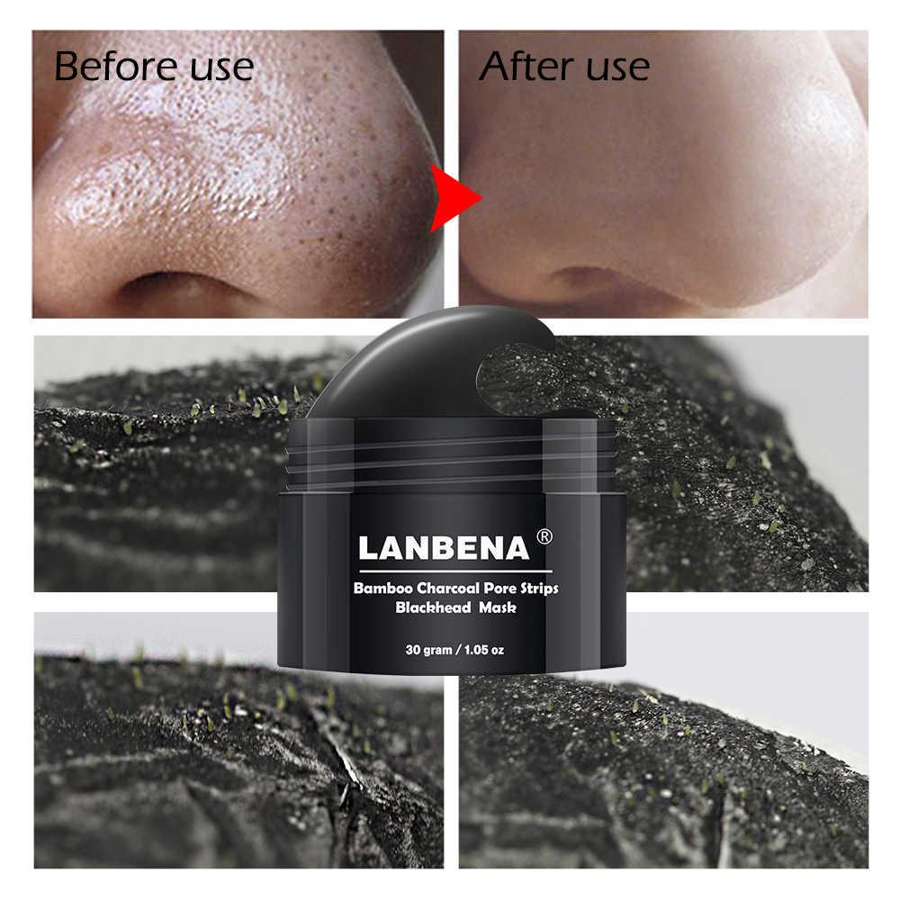 นาฬิกา LANBENA Blackhead Remover หน้ากากจมูก Blackhead Mask ลอกสิว Treatment Blackhead Deep Cleansing Skin Care หน้ากากใบหน้า