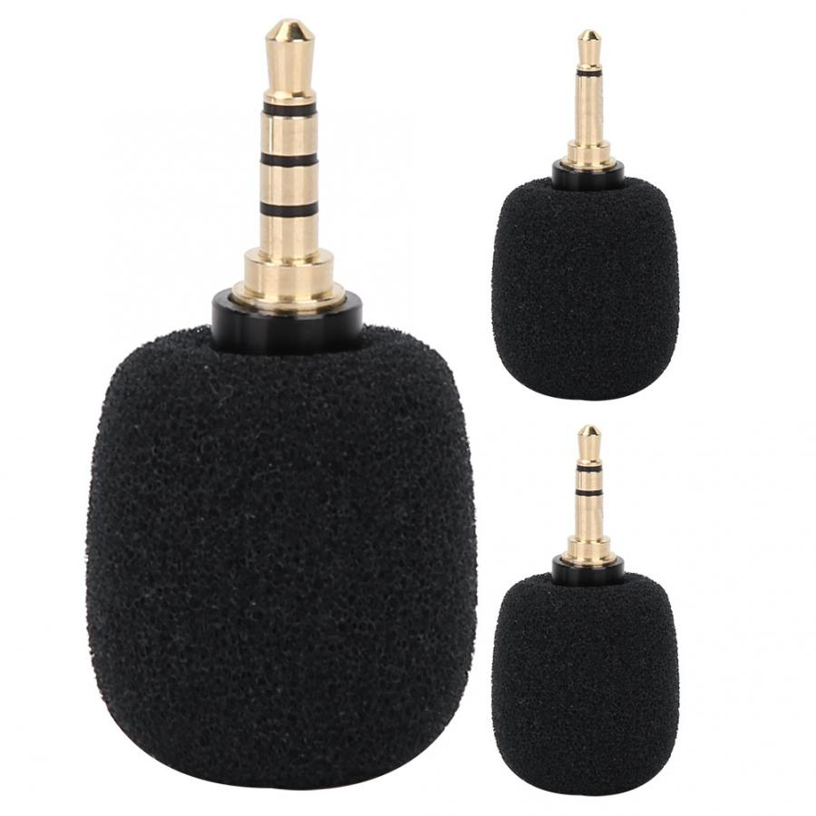 Microfono Mini Microphone Portable 3.5mm Jack Plug For Mobile Smart Phone  Studio Microphone