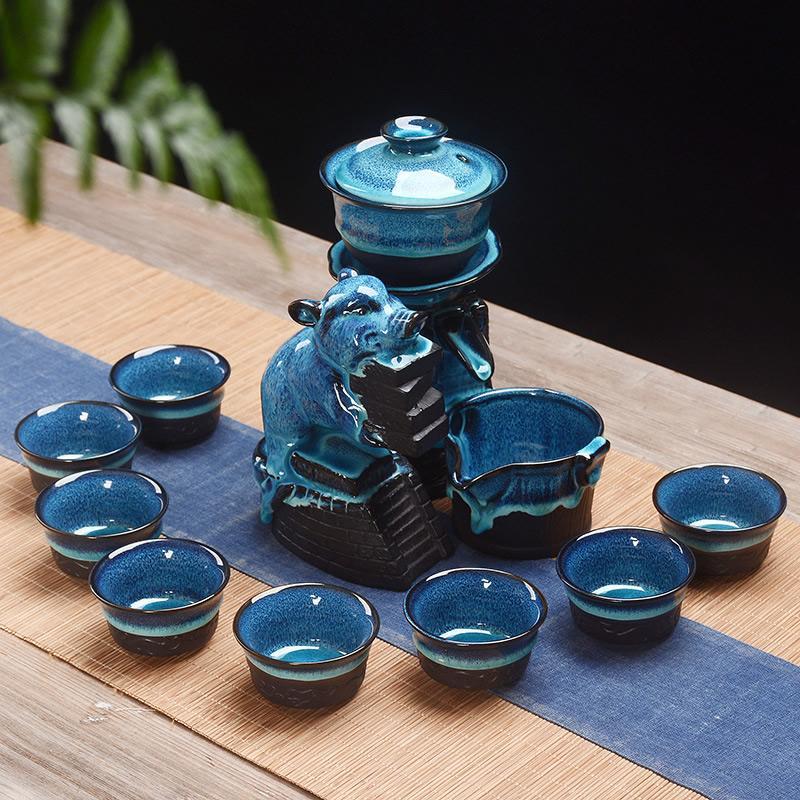 Chinese Kung Fu Tea Set Portable Teaware Sets Ceramic Teapot Teaset Gaiwan Set Tea Cups Of Tea Ceremony Master Teapot Set