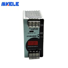 150W 24V Mini Size Switching Power Supply 6.25A AC-DC Din Rail Power Supply With Digital Display LP-150-24 For LED Strip Light [powernex] mean well original hvgc 150 1050d 15 143v 1050ma meanwell hvgc 150 150 15w led driver power supply d type