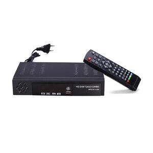 Image 1 - האיחוד האירופי תקע דיגיטלי יבשתי טלוויזיה בלווין מקלט Dvb T2 S2 קומבו Dvb T2 Dvb S2 טלוויזיה תיבת 1080P וידאו Hdmi החוצה עבור רוסיה אירופה
