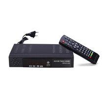 Prise ue récepteur de télévision par Satellite terrestre numérique Dvb T2 S2 Combo Dvb T2 Dvb S2 Tv Box 1080P vidéo Hdmi Out pour la russie Europe