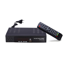 Ue plug digital receptor de tv satélite terrestre dvb t2 s2 combo Dvb T2 Dvb S2 caixa tv 1080p vídeo hdmi para fora para a rússia europa