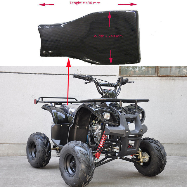 460*270mm Black Seat Pad Assembly For 50cc 70cc 90cc 110cc 150cc Racing Style Quad Dirt Bike Atv Atv,rv,boat & Other Vehicle Atv Parts & Accessories