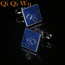 New French Fashion Shirt Wedding Cufflinks For Men Cuff links The Best is Yet To Be Grow Old With Me Free Shipping RL-8053