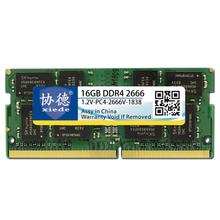 Xiede Laptop Memory Ram Module Ddr4 2666 Pc4 2666V 288Pin Dimm 2666Mhz Notebook Memory