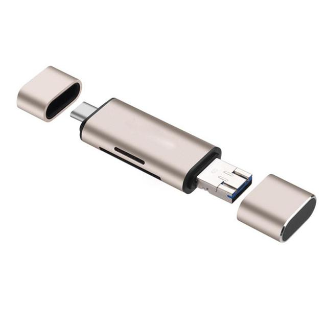 5 trong 1 đầu Đọc Thẻ OTG USB Nữ Giao Diện Cho MÁY TÍNH USB 3.0 Đọc thẻ TF đầu Đọc Thẻ nhớ Adapter Máy Tính Đồ Dùng