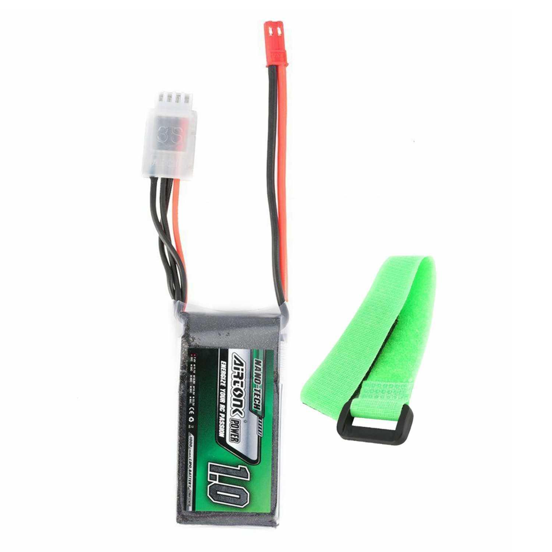 Airtonk 11,1 V 1000 Mah 30C 3 S 1 P Lipo батарея Jst разъем для радиоуправляемого дрона автомобиля