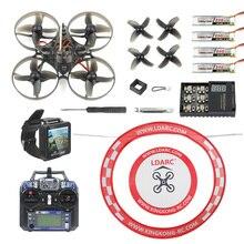 Mobula7 v2 rtf 75mm crazybee f3 pro osd 2s bwhoop fpv drone mobula 7 com fpv watch/avental para arco com óculos de proteção, fs i6 controle remoto