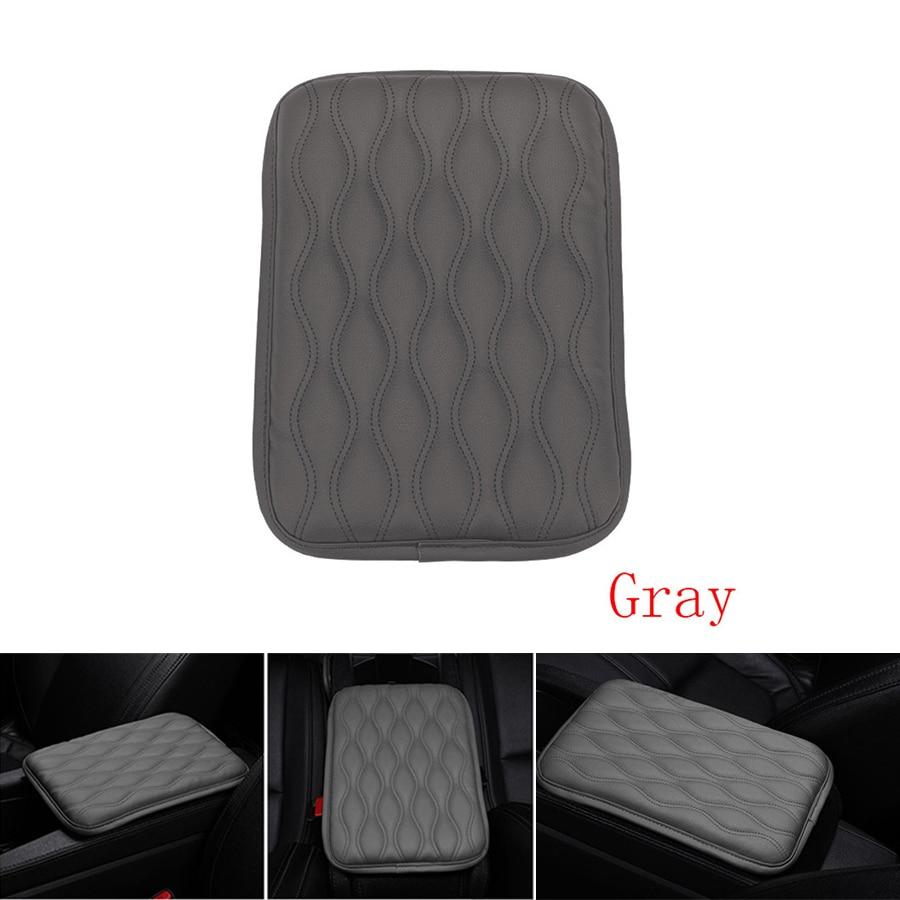 Universal Car Leather Armrest Pad Cover Center Console Box Cushion Armrest Pad