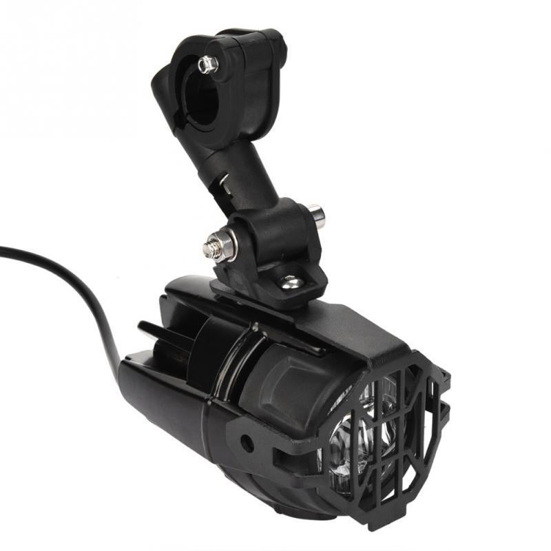 Paire de moto rcycle LED Auxiliaire Conduite Phares Étanche Brouillard Lampe Super Lumineux 6000 K moto rcycle pièces accesorios para moto