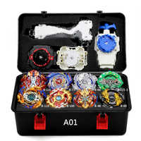 New Beyblade Burst Set Toys Beyblades Arena Bayblade Set Metal Fusion Fighting Gyro 4D with 4 Launcher Spinning Top Blades Toys