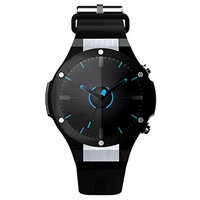 H2 Smart Watch Android 5.1 OS MTK6580 1.4 inch Round Screen GPS Wifi 3G HD Camera Heart Rate Monitor 1GB+16G PK H1 KW88