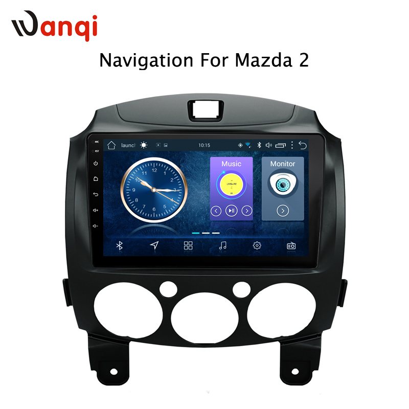 Android 8.1 Car Radio For MAZDA 2/Jinxiang/DE/Third generation 2007-2014 GPS Navigation Multimedia PlayerAndroid 8.1 Car Radio For MAZDA 2/Jinxiang/DE/Third generation 2007-2014 GPS Navigation Multimedia Player