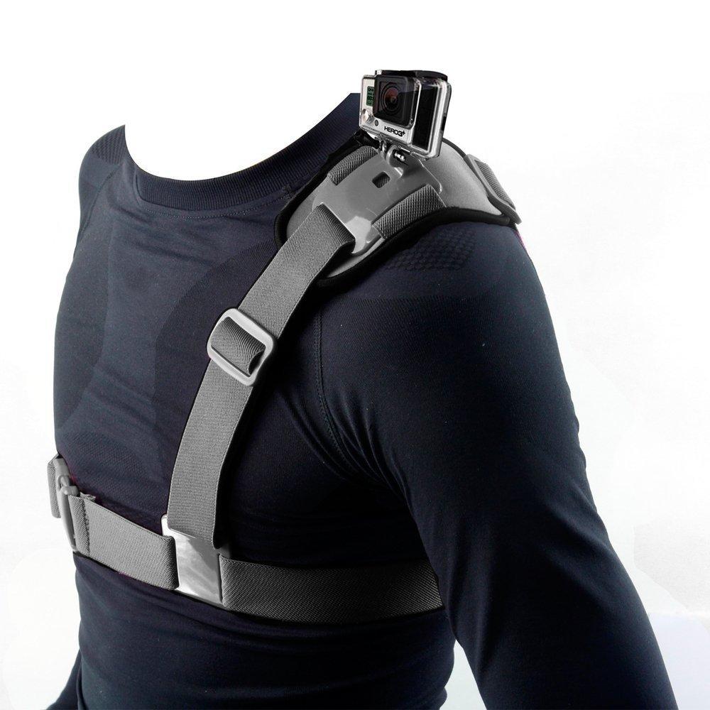 T Face Accessories Chest Shoulder Mount Strap for Gopro Hero 5 4 SJCAM SJ4000 Shoulder Belt