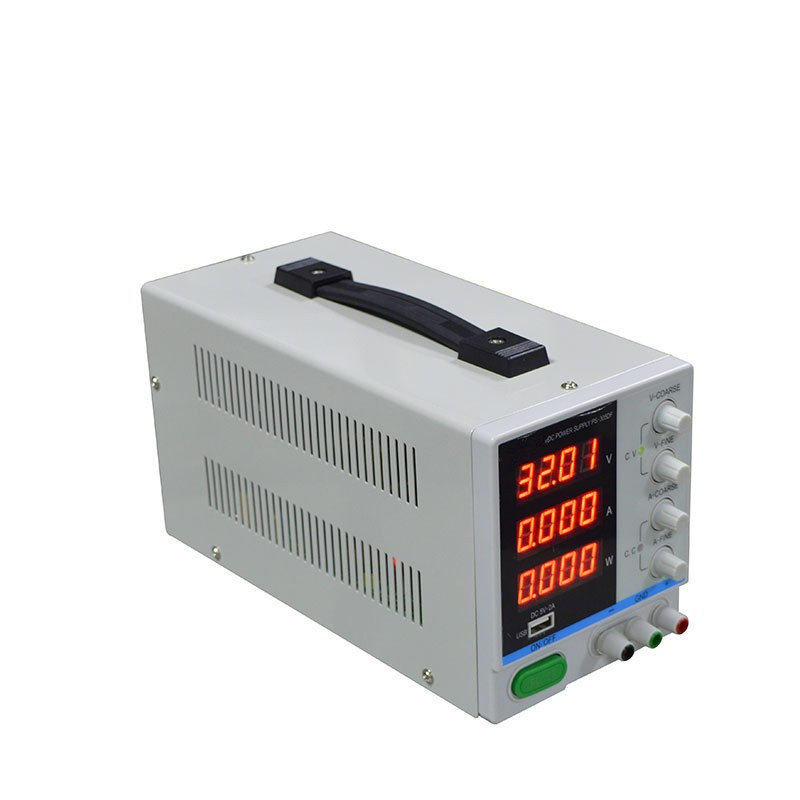 Adjustable Switching DC Power Supply 4 Digital Display 30V 5A High Precision DC Power Supply for