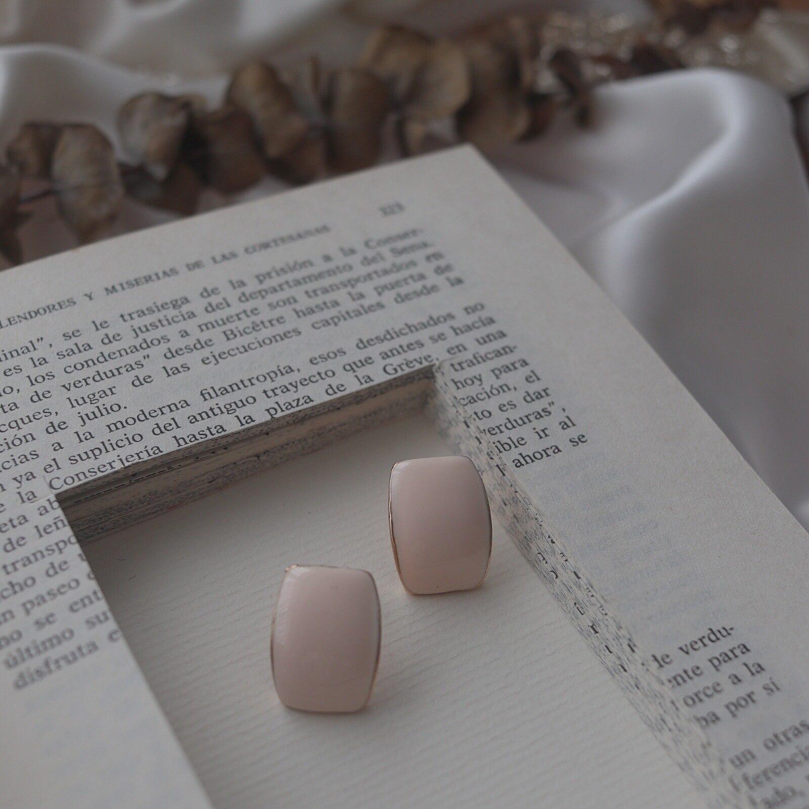 2019 Korea Earring Vintage Ear Rings Colorful Enamel Geometric Glaze Women Earrings Boho Girl Summer Ear Rings Beach Gift in Stud Earrings from Jewelry Accessories