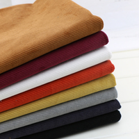 Tecidos Silk Fabric Pure Cotton Thickening Article Wide Corduroy Qiu Dong Inelasticity Flannel Pants Shirt Fabric About 2 Mm