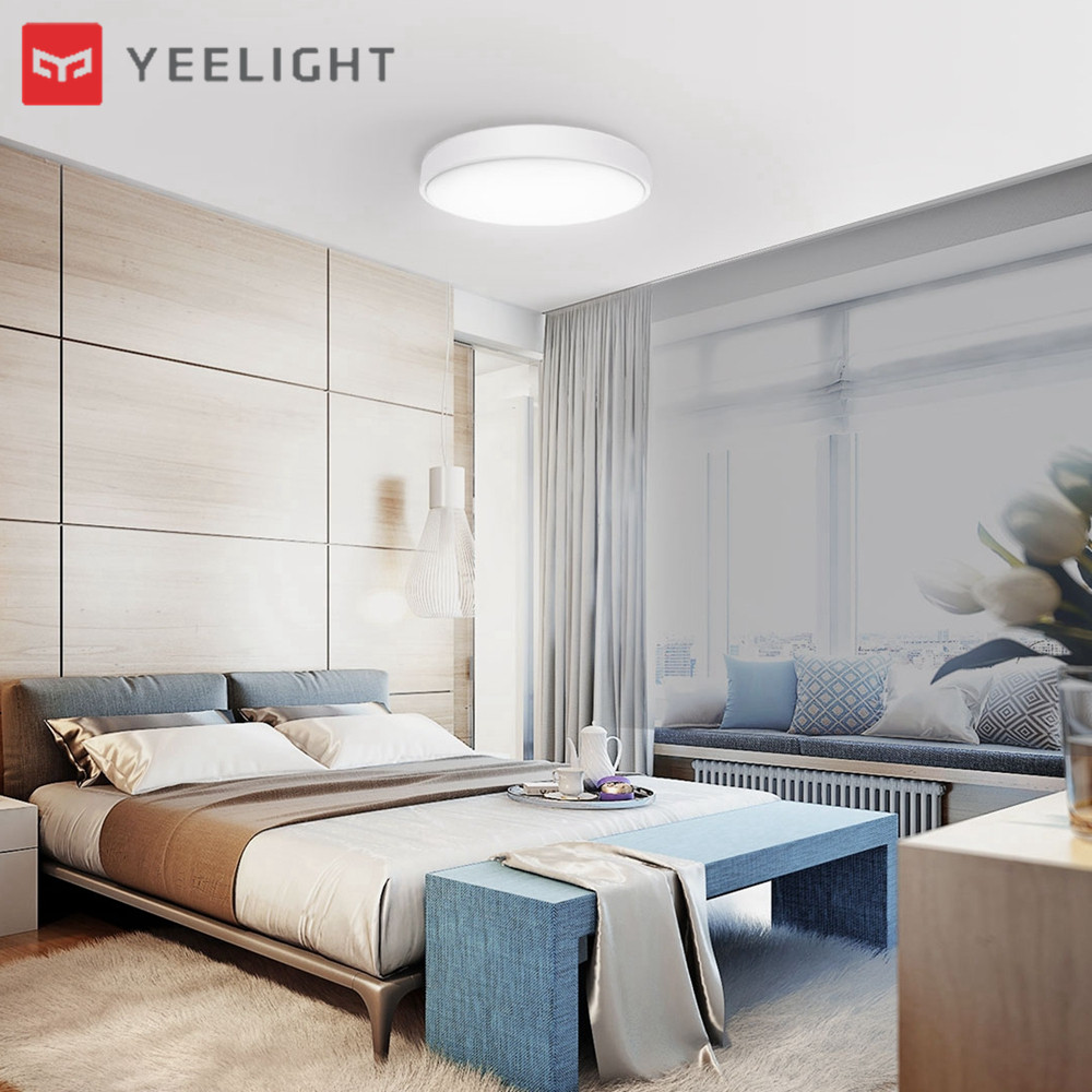 Xiaomi Yeelight 35W Nox Round Diamond Smart LED Ceiling Light for Home Bedroom Living RoomXiaomi Yeelight 35W Nox Round Diamond Smart LED Ceiling Light for Home Bedroom Living Room