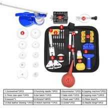 48pcs/set Pro Watch Repair Tool Set Watch Case Opener Link Pin Remover Watch Tools reloj Accessories updated deluxe suction case opener set watch case opener set with 8 dies and handle