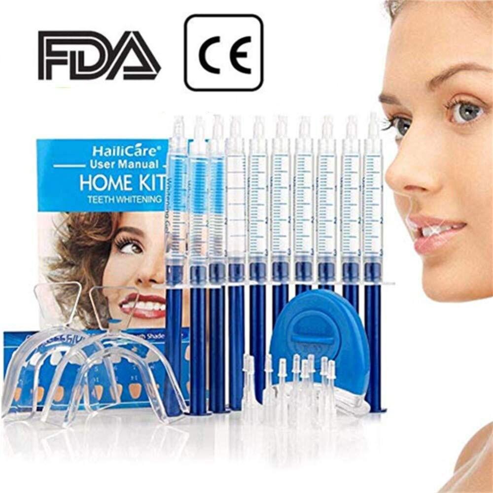 10PCS Teeth Whitening 44% Peroxide Dental Bleaching System Oral Gel Kit Tooth Whitener Dental Equipment
