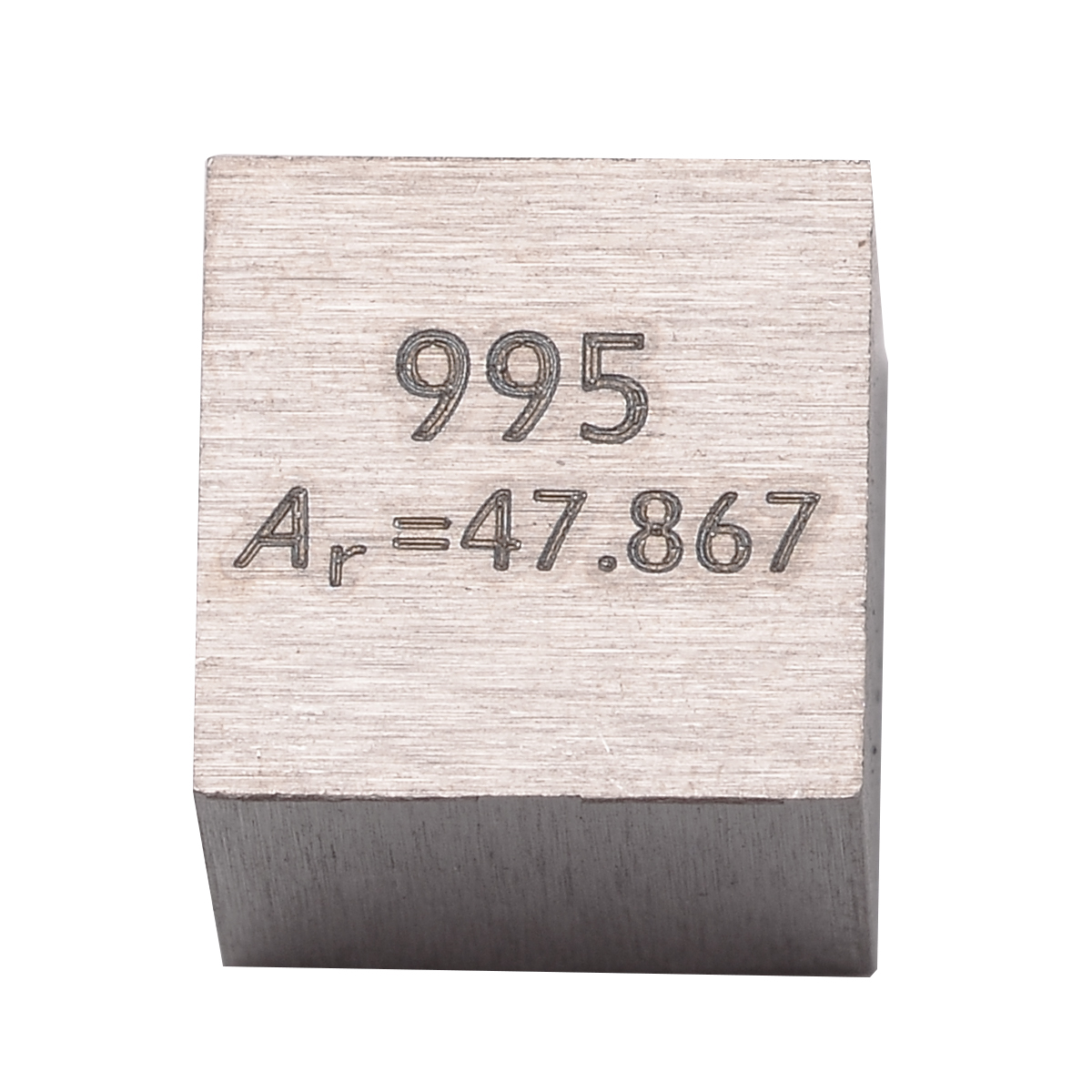 Image 4 - 1pc 99.5% Pure Titanium High Purity Cube Ti Metal Carved Element Periodic Table Craft Wonderful Collection 10*10*10mm-in Tool Parts from Tools