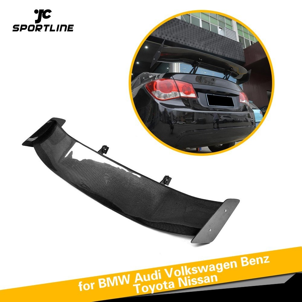 Pour BMW F80 E46 E90 E92 M3 F82 M4 F87 M2 E60 F10 M5 E82 1 M F12 M6 Voiture Style Lèvre Arrière Spoiler Botte Lèvre En Fiber De Carbone