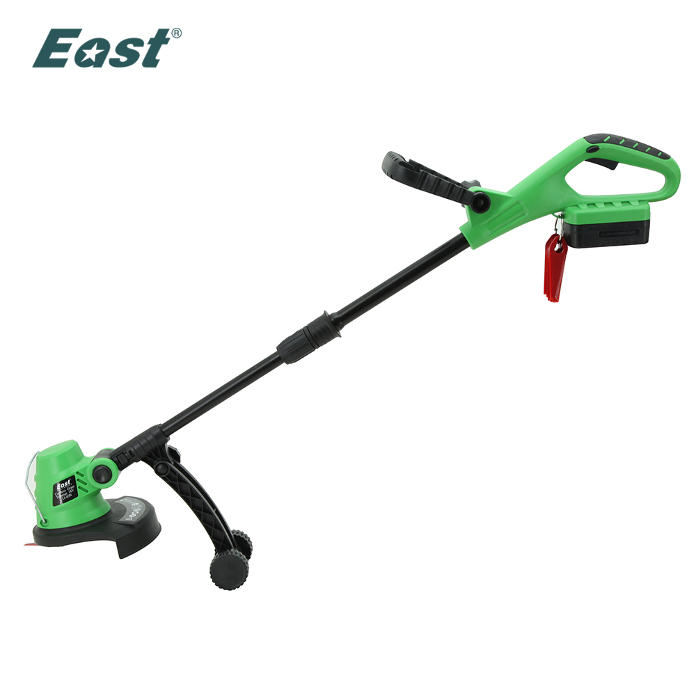 EAST Garden tools 18V Rechargeable battery Cordless grass trimmer reel mower lawn mower telescopic handle mower