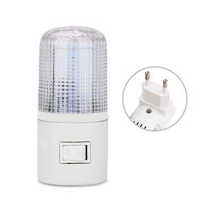 Image 3 - Led night light luz de emergência lâmpada de parede casa iluminação ue/eua plug lâmpada de cabeceira montado na parede 3 w energia eficiente lâmpada de poupança