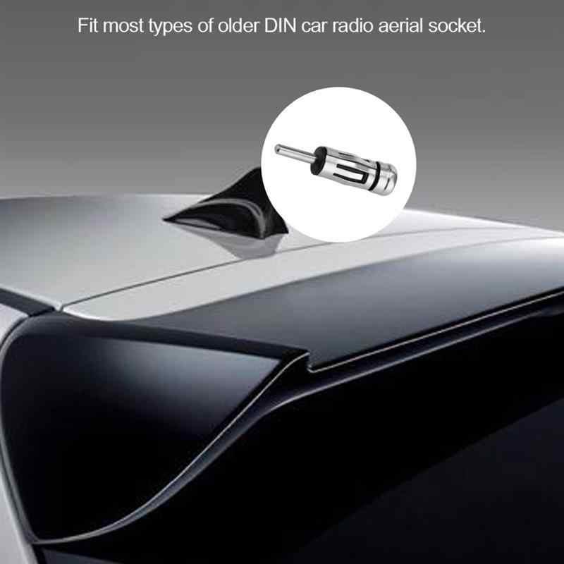 TiOODRE coche Radio Estéreo ISO a DIN macho antena aérea conector enchufe adaptador de mástil vehículo Auto Radio adaptador