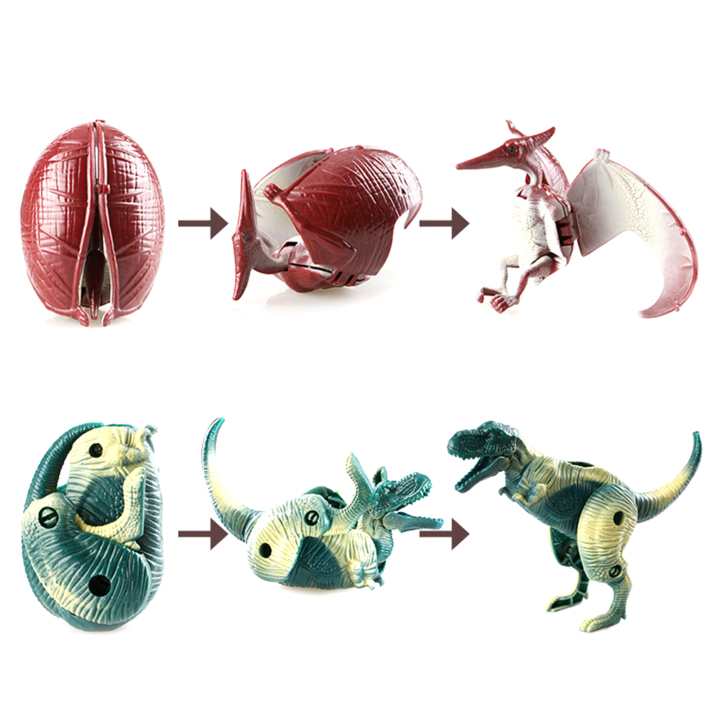 Dinosaur Egg Model Deformed Dinosaurs Egg For Children Collection Action Figure Growing Egg Hatching Growing Kids Education Toy