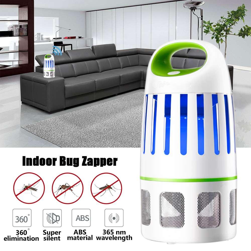 360 ° 10 LED électrique moustique tueur mouche insecte tueur piège UV lampe électrique intérieur moustique piège pour la maison commerciale