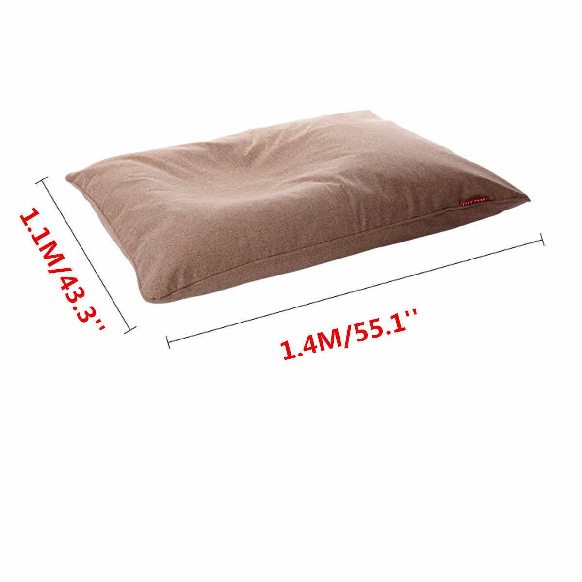 140x110 cm Saco De Feijão Preguiçoso Sofás Cadeiras de Pano Tampa Da cadeira Espreguiçadeira Sofá Pufe Puff Sofá Tatami Sala de estar mobiliário lavável