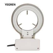10W Microscope Top Light Source White Fluorescent Ring Lamp Instrument Lamp Inner Diameter 70 mm for Stereo Microscope