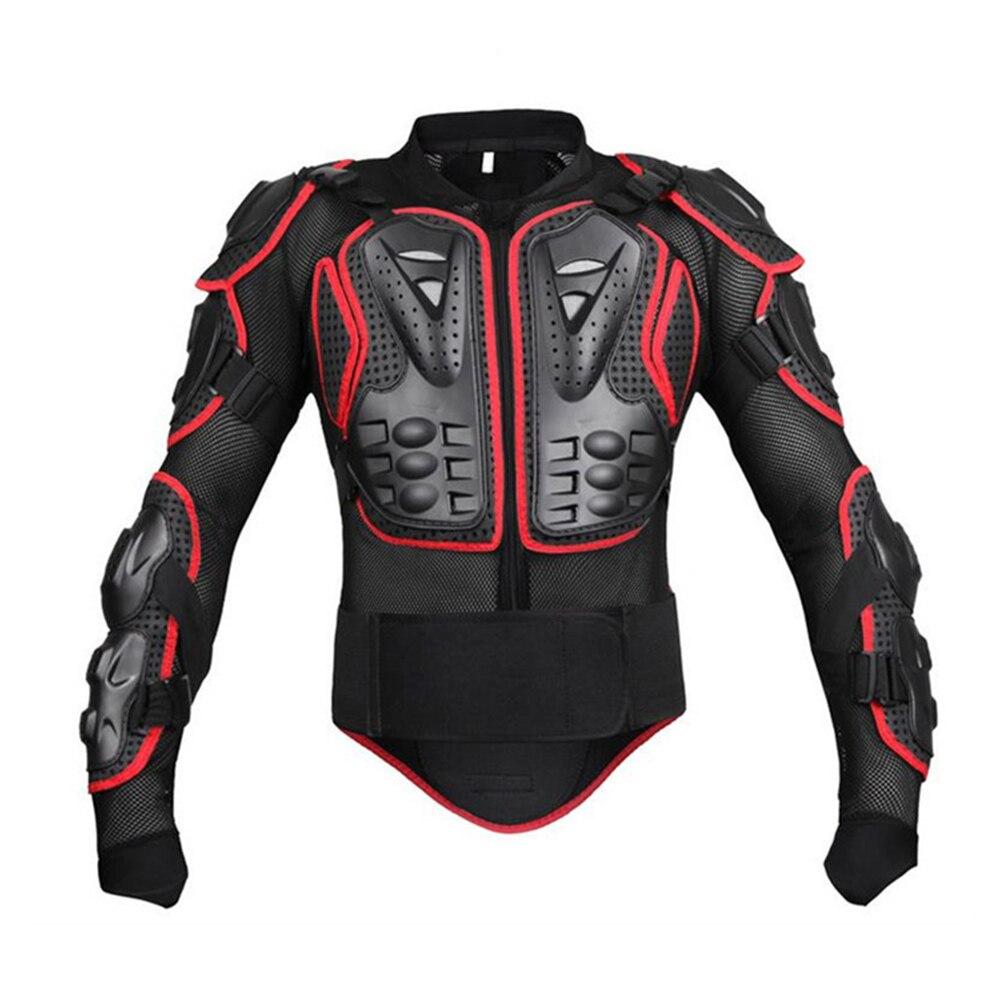 Unisexe Moto armure Protection Motocross vêtements veste protecteur Moto croix arrière armure de Protection - 4