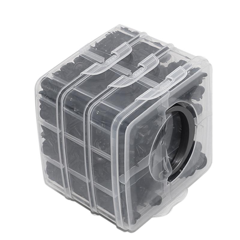 New 16 Kinds Of 630 Pieces Of Automotive Fasteners Set Car Bumper Clip Professional Car Repair Parts Clip
