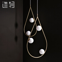 pendant lamp Nordic style droplight bedroom personality contracted postmodern droplight designer lamps and lanterns