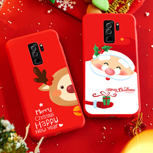 ASINA Santa Claus Case For Samsung Galaxy S9 Plus Christmas S7 S8 A5 2017 A8 2018 Note 9 J7
