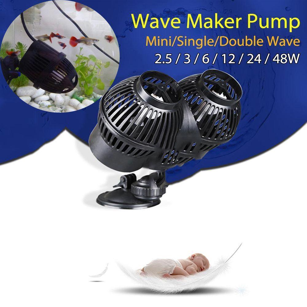 SunSun JVP Circulation Aquarium Wave Maker Water Pump Wavemaker Suction Magnet For Fish Tank 3W 6W 12W 24W 48W  Multi Power 220V