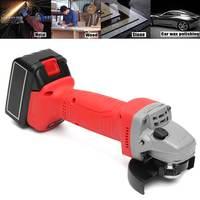 8800mA 48 V 11000r/мин 4 дюйма электрическая угловая шлифовальная машина беспроводные режущий инструмент с Перезаряжаемые Батарея 100 мм шлифовальн