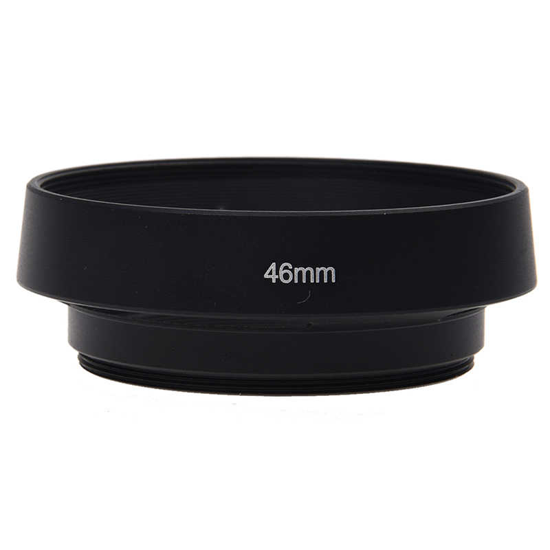 46mm Vented Lens Hood-BLACK