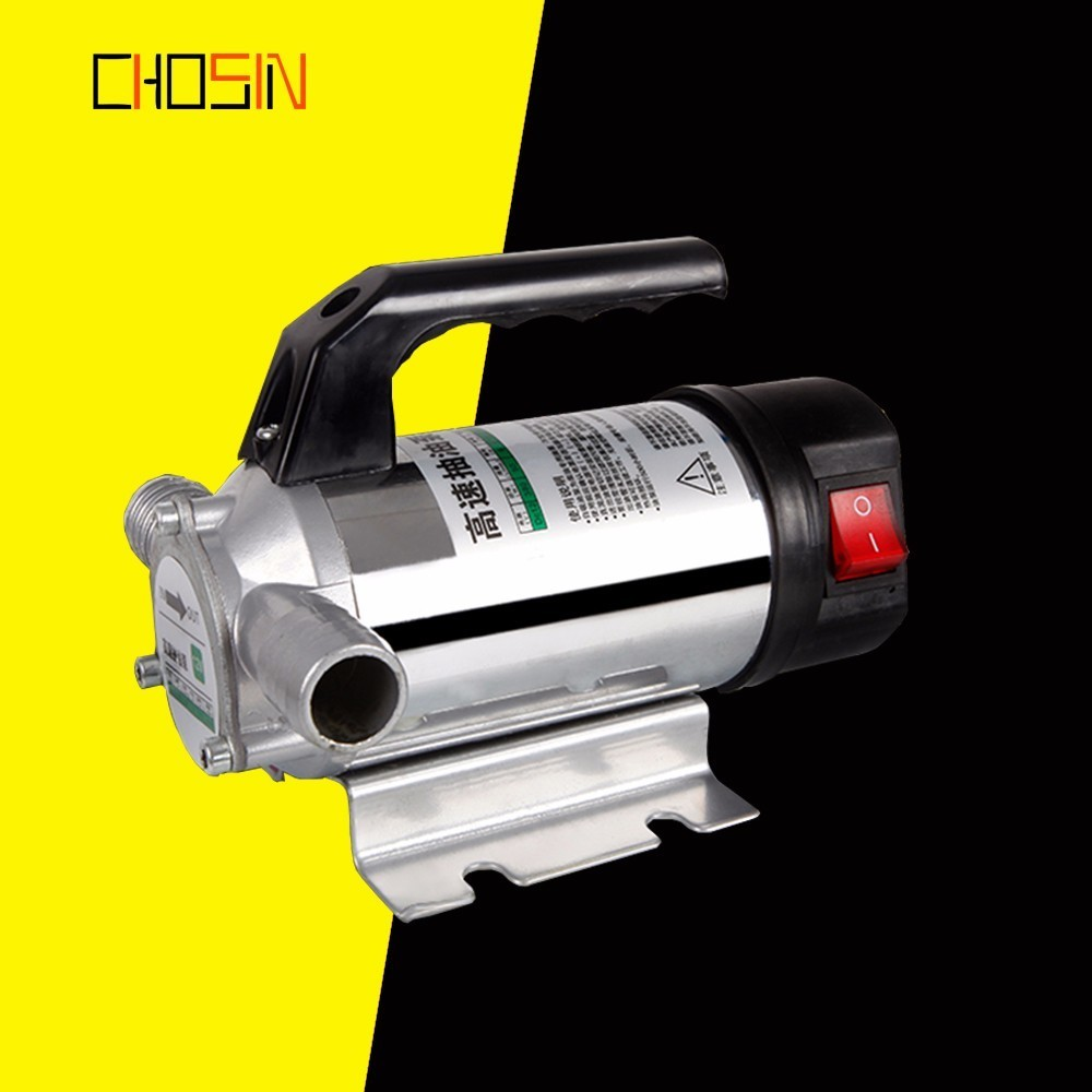 50l/min Ac Dc Electric Automatic Fuel Transfer Pump Small Auto Refueling Pump For Pumping Oil/diesel/kerosene/water