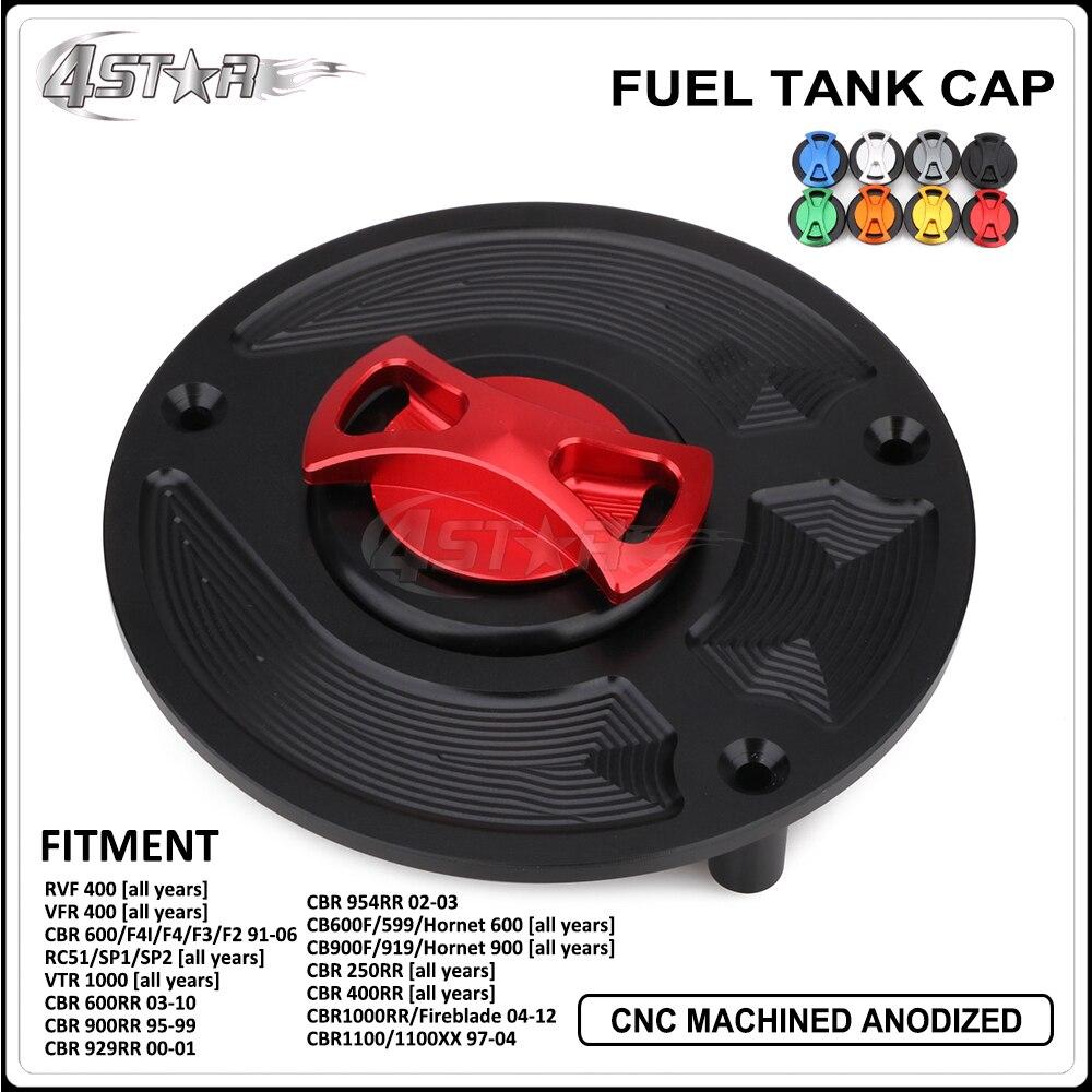 CNC Fuel Gas Tank Cap For HONDA CBR600 CBR600RR CBR1000RR CBR250RR CBR400RR