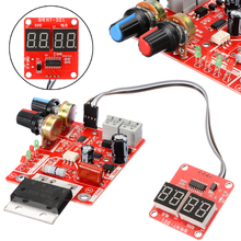 1pc 100A Spot Welding Machine Time Current Controller Control Panel Board Module Replacement Parts NY-D01